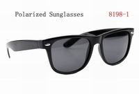 2012 Newest Polarized Sunglasses Fashion Polaroid Eyewear High Quality and Hot Design Free Shipping 8198-1