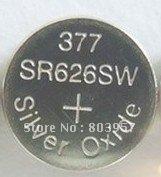 DHL/FEDEX Free shipping 500pcs/Lot SR626SW 377 SG4 Silver oxide watch battery
