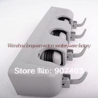 Free shipping 2pcs/lot magic holder 3 positions broom mop holder wall hook tool organizer environmental protection saving space