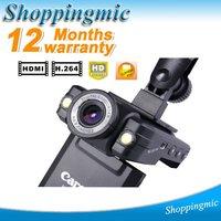 5.0 Megapixel Full HD 1080P Car DVR Recorder Camera Night Version 2.0 LCD HDMI  K2000 Free Shipping