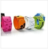 Free shipping, K.case fashion, Ozaki iCoat Watch, Apple IPOD NANO 6 silicone iCoat  watch band,5pcs/lot