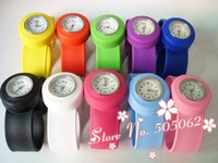 100 pcs Top Sale High Quality silicone slap watch, kids slap watch children watches 16 colors simple plastic bag packaging w03