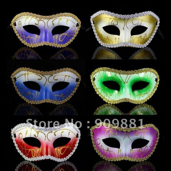 2012 new arrival  Halloween  Party  masquerade  Venetian  women Lady Sexy masks free shipping