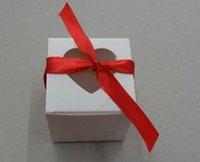 Free shipping!Hot.herat window cupcake box,candy box ,wedding favor party box