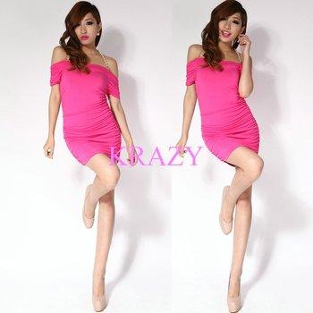 Krazy  sexy lady dress evening dress lady apparel party dress 034