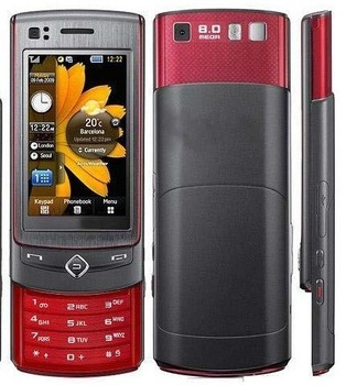 Original mobile phone S8300, unlocked cell phone 3G 8MP camera S8300