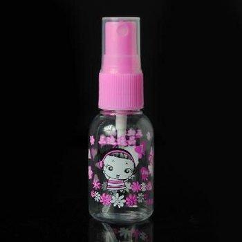 Perfume Spray 30ml Plastic Bottle Pink Plastic Bottle Lovely girl Series Scent Bottle