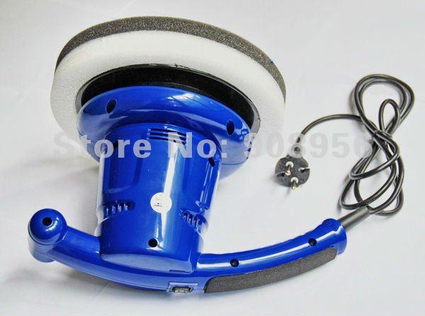 "2012 NEW Car Care Tools AC220V 9"" Car polisher 3500rpm/2485RMP Smart two-speed waxing polishing machine 1 pc, free shipping(China (Mainland))"