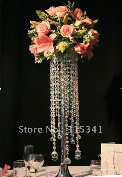 Fedex (10pcs /lots)Acrylic crystal wedding centerpiece/OUGE-005/70CM Tall(China (Mainland))