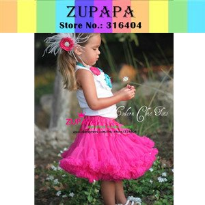 Baby girl s raspberry pettiskirt little princess tutu skirts baby