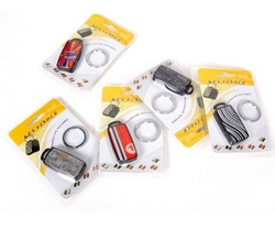 2012 whistle key finder wholesale LED Sound Control Lost Key Finder Keyring Keychain New(China (Mainland))