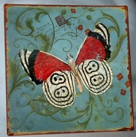 2014 HOT SALE home decoration painting/tin signs/metal signs