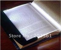free shipping 100pcs/lots LED Night Book Reading Light Panel Lightwedge Paperback