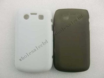 200pcs/lot  Good Quality TPU Back Case Skin Covers Protector for Blackberry 9700 9800 9020