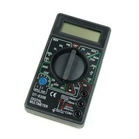 Free Shipping New LCD Digital Voltmeter Ammeter Ohm Multimeter DT WholeSale E01020131