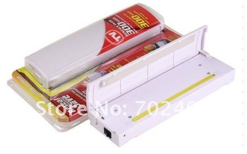 Free Shipping Reseal Save Portable Plastic Sealer Portable Vacuum Sealer As Seen On TV 10pcs/lot