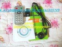Free Shipping Digital TV Stick, USB DVB-T 2.0 Stick Digital TV Digital TV Tuner For PC Laptop