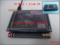 Free shipping,STM32 HY-MINI STM32V Development Board,STM32F103VCT6 With + 3.2' LCD+Jlink Emulator