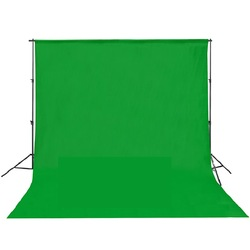 Wholesale 10ft x 10ft/3m x 3m Green Photo Studio TV Screen Muslin Backdrop Background Chromakey(China (Mainland))