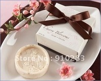 Free shipping, 2010 KATE ASPEN wedding gift of Scented Cherry Blossom Soap Wedding Favors, 100PCS/LOT, wholesale or retail