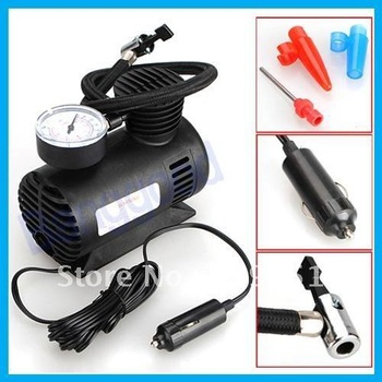 Trucks/Auto 12V Car Auto 12V Electric Pump Air Compressor Tire Inflator - Sample vehicle blast pump  250PSI
