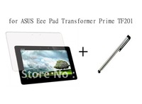 New Clear Film Screen Protector +Touchpen  For Asus Eee Pad Transformer 2 Prime TF201,free shipping!!!