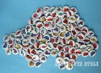 2.5cm Pixar Cars Fashion Badge 102pc random