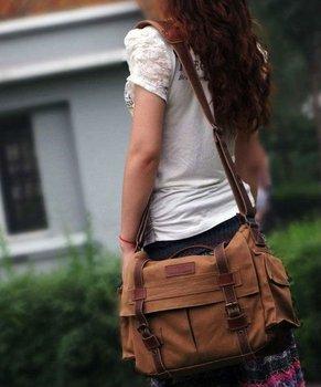 New professional Canvas DSLR/SLR Camera Bag ,Messenger Bag ,Single Shoulder Bag ,Min order 1pce ,EMS Free