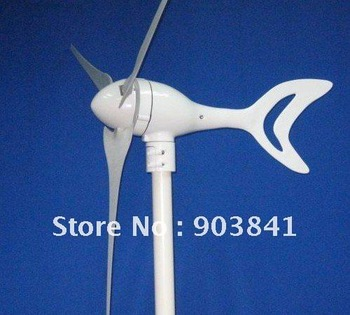 300w dolphin-B  wind  driven generator,wind generator,1850r/m,max power 380w,starting wind speed 1.5m/s.high quality,low price
