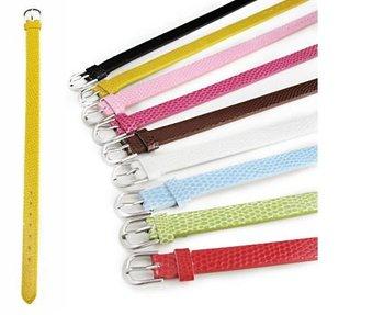 DIY Accessories fit pet collar ,bracelet ,DIY Accessories PU Wristband Bracelet Fit 8mm slide charms  ,100pcs/lot
