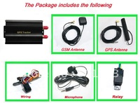 car GPS tracker103# Supports the remote control car gps tracking