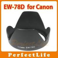 EW-78D Lens Hood for Canon EF-S 18/28-200mm F3.5-5.6 IS 50pcs/lot A07DBZZ009