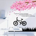 Free shipping:Upgrade Sticker 1lot=10sets wholesale Flower scenery Removable 3D sticker DIY home Decoration Wall Sticker