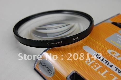 Фильтр для фотокамеры 72mm 72 mm Macro Close-Up +4 Close Up No.4 Filter