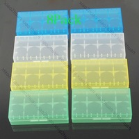 Free shipping! 8 x CR123A 18650 16340 Battery Case Box Holder Storage