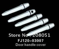 free shipping! 2003-2009 TOYOTA PRADO FJ120 ABS chromed door handle cover 8pcs