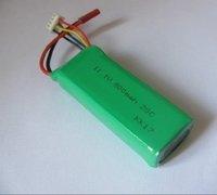free shipping 100pcs/lot EK1-0188 800mAh 11.1V 15C Lipo Battery Esky Big Lama