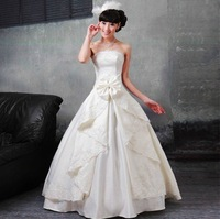 Free Shipping!2012 Limited Newest Stylish Perfect Storm Designer Ruffles High-end Bride Wedding Dresses  HS8438