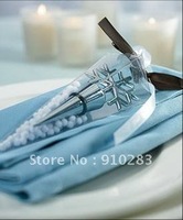 Free shipping Europe , Snowflake Shaped Stopper Wine Wedding Favor 100PCS/LOT, wholesale or retail
