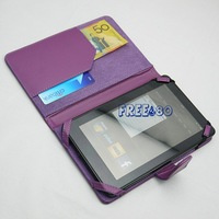 Wholesale 50x  Chic Textured PU Leather Case Wallet Pouch for Amazon Kindle Fire Tablet , Book open design