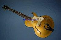 Standard Custom Golden yellow color 335 339 JAZZ Electric Guitar