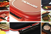 Wholesale Happy Call,Happycall Fry pan,28cm Non-stick pan,Double Side Grill Fry Pan  +Free Shipping
