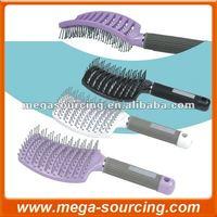 DHL Free Shipping 240 pcs/lot Keratin Complex Curved Vent Brush White