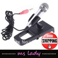 Mini Mic Microphone For PC Computer Laptop MSN Skype free shipping HK airmail