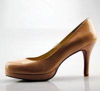 Туфли на высоком каблуке NEW spring ladies high heel wedding pumps Classic Brand Style bridal Pumps PU Leather Stiletto pumps fashion platform shoes