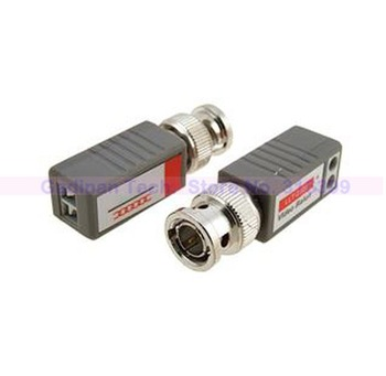 Coax CAT5 To Camera CCTV BNC Video Balun Transceiver