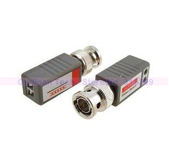 Coax CAT5 To Camera CCTV BNC Video Balun Transceiver