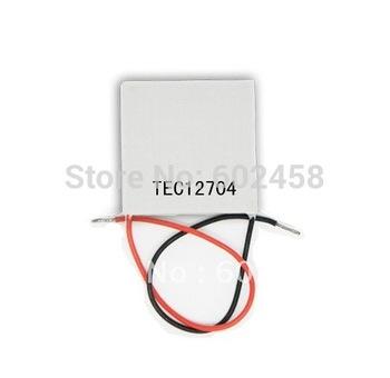 2pcs/ lot, TEC12704Peltier,12704TEC Thermoelectric Cooler Peltier 12V, peltier module 12704, peltier 12704 cells