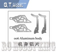 Newest QS 9012 RC helicopter spare part 9012-06 9012-006 aluminum body  For QS9012 helicopter + low shipping fee