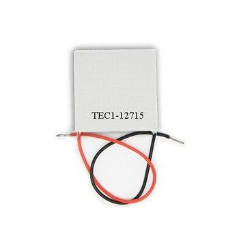 10pcs/ lot, TEC12715Peltier,12715TEC Thermoelectric Cooler Peltier 12V, peltier module 12715, peltier 12715 cells